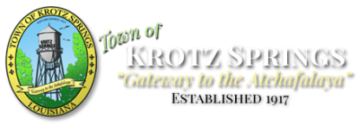 Town of Krotz Springs <br>Louisiana - A Place to Call Home...